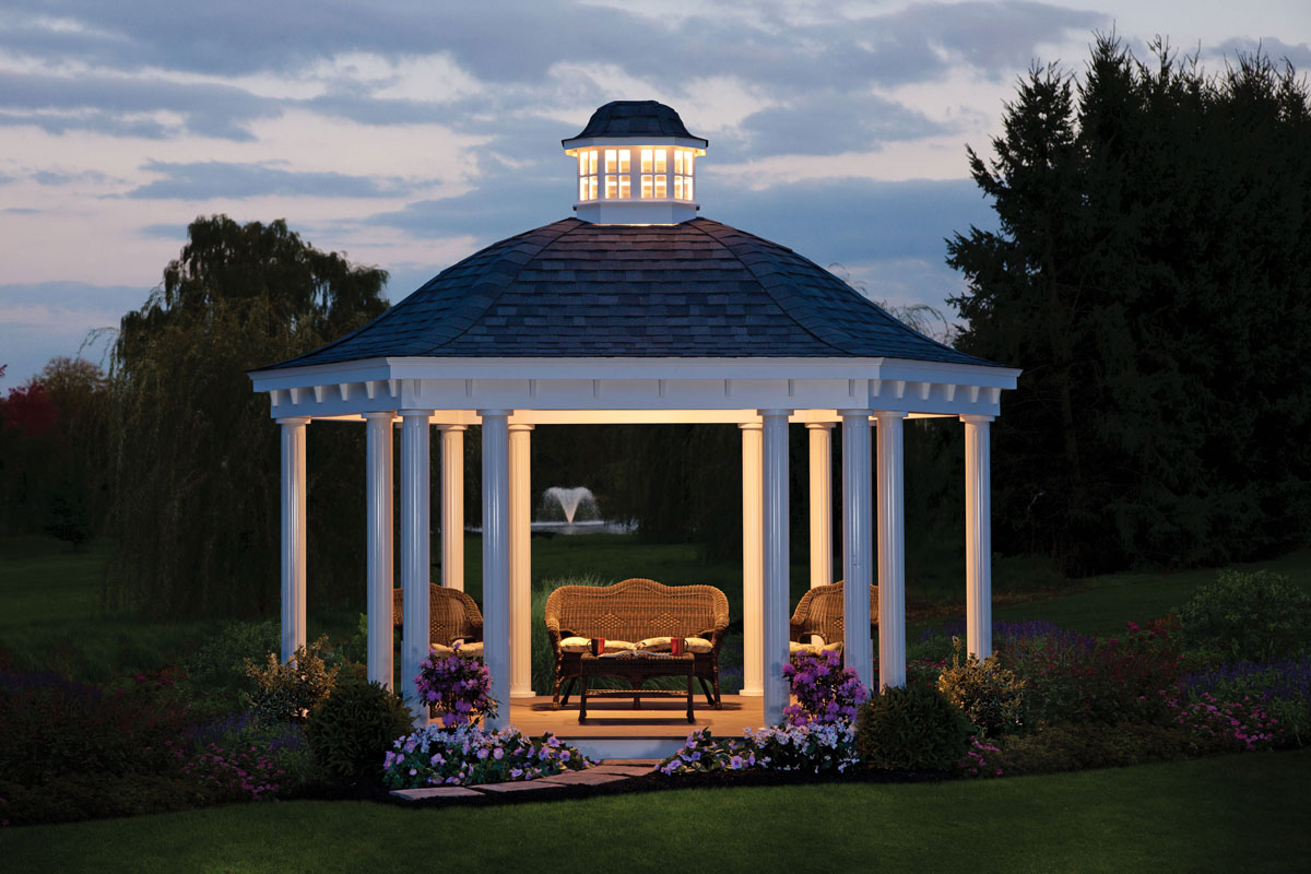gazebos | backyard structures by yard works