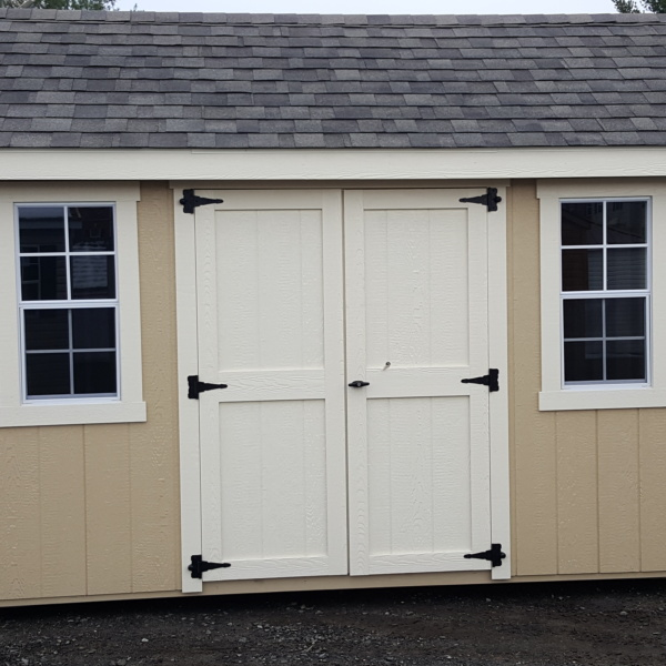 A Frame Classic 8 x 12 wood shed - Backyard Structures