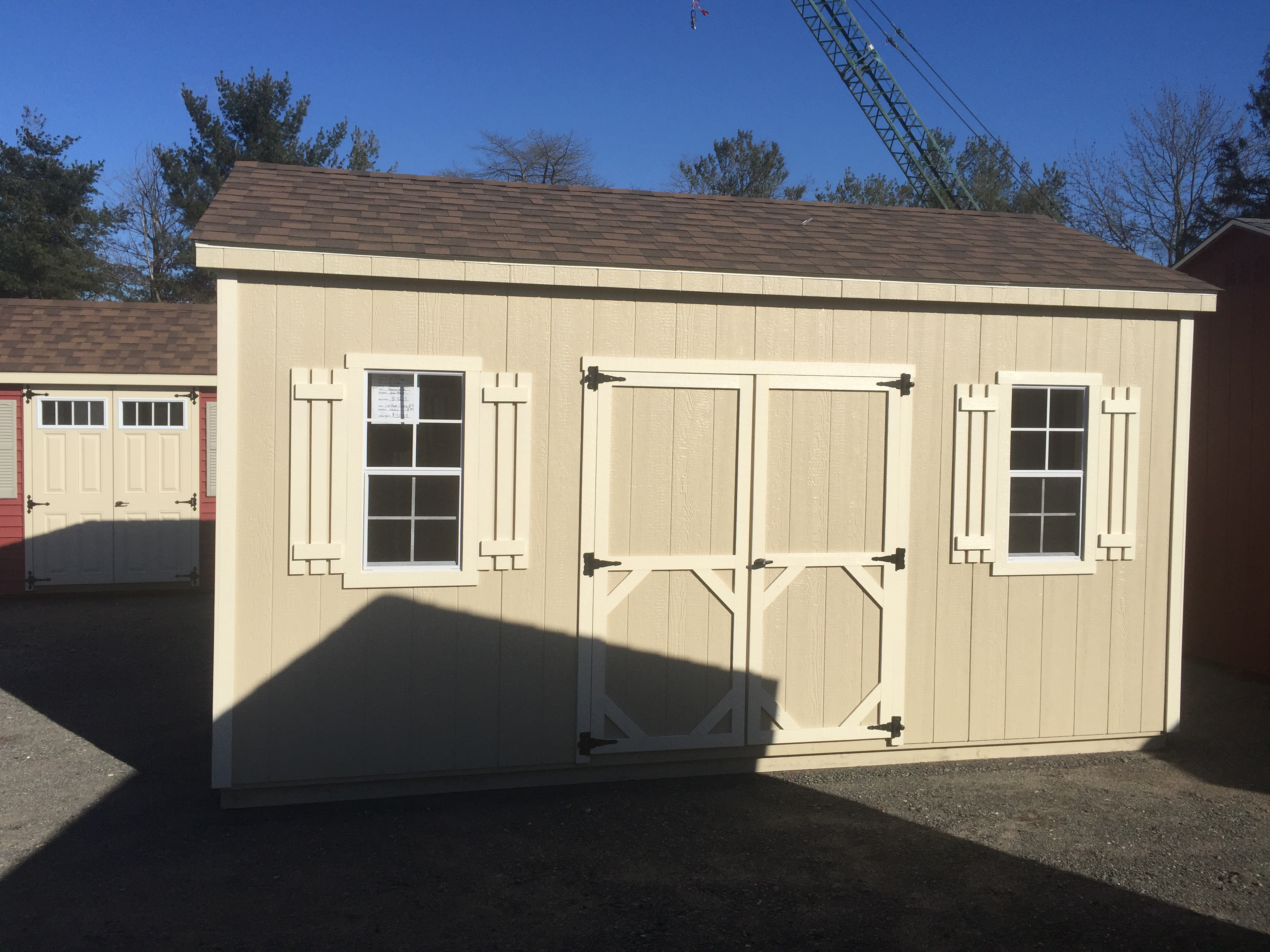 10 X 16 A Frame Cottage – Backyard Structures