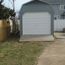 12 x 16 High wall Barn Garage